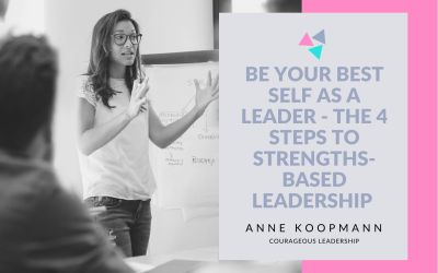 Be your best self as a leader – the 4 steps to strengths-based leadership