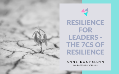 Resilience for leaders – The 7cs of Resilience