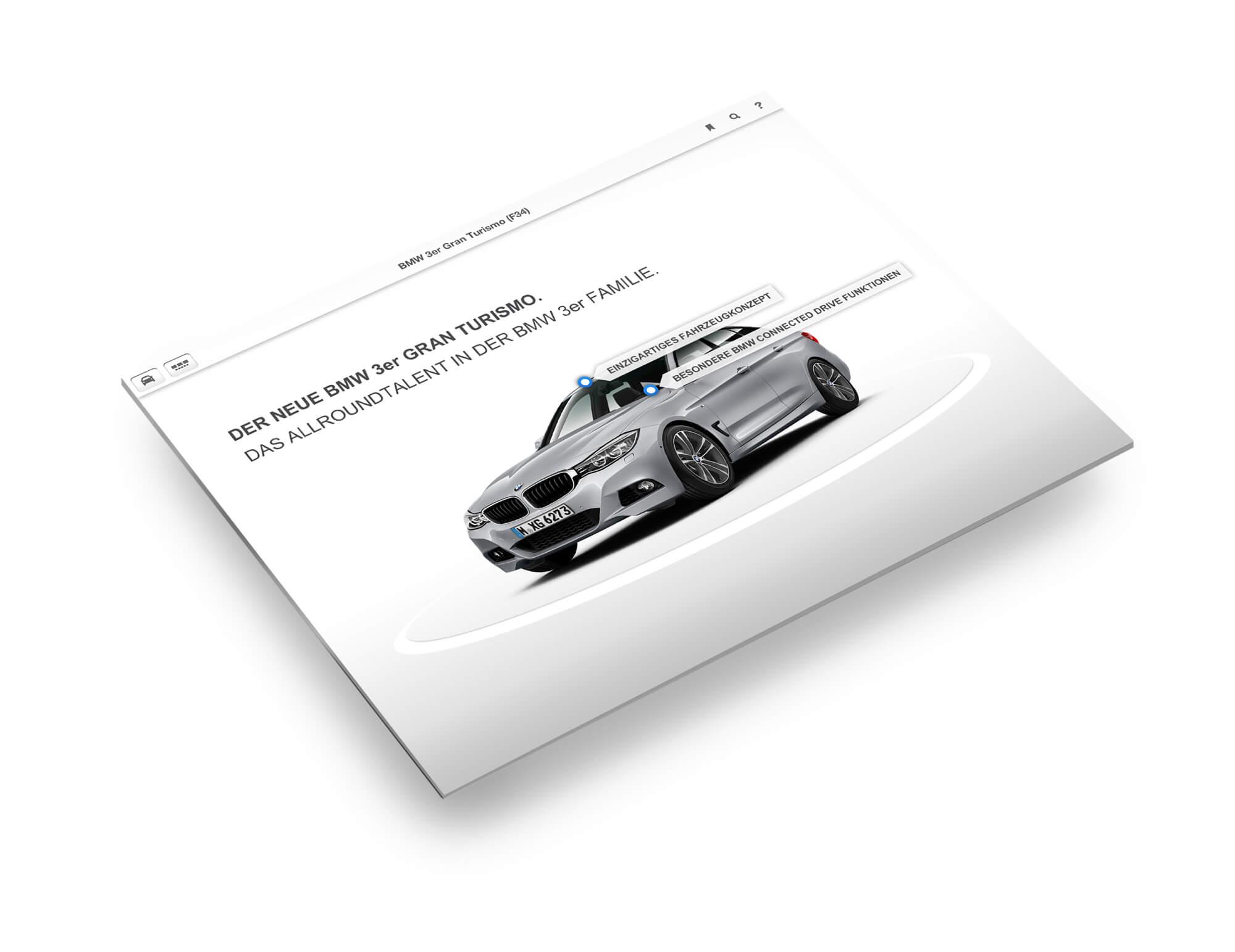 F34-BMW-Drehmodell