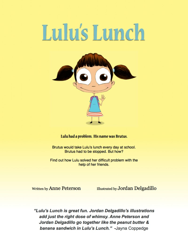 Lulu's lunch landing page