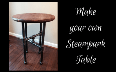 Anne's Steampunk Side Table