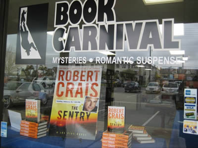 Book Carnival window