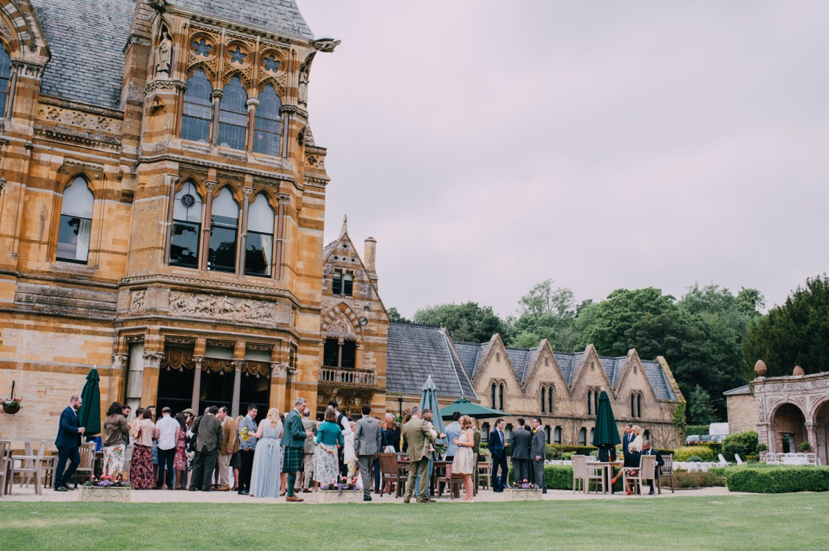 ettington-park-hotel-wedding-ceremony-outside-drinks-reception-venue