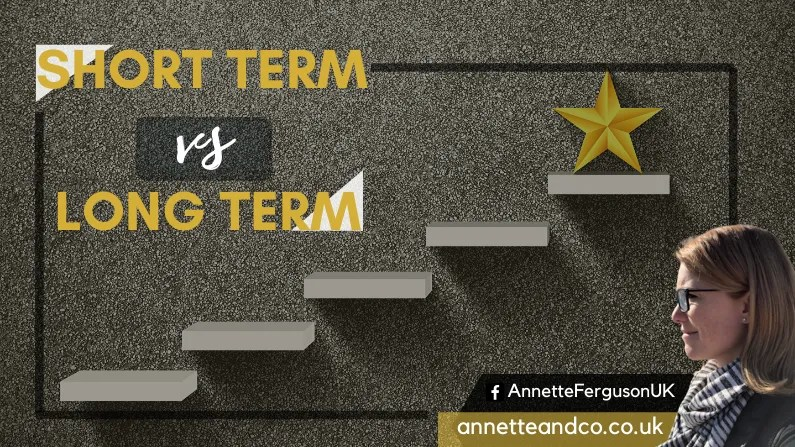 Featured Banner for the Blog entitled Short Term vs Long Term Strategy
