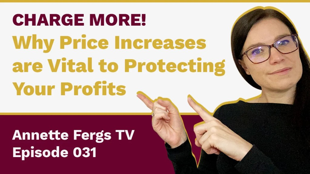 a featured image of a blog post that highlights the topic why price increases are vital to protecting your profits