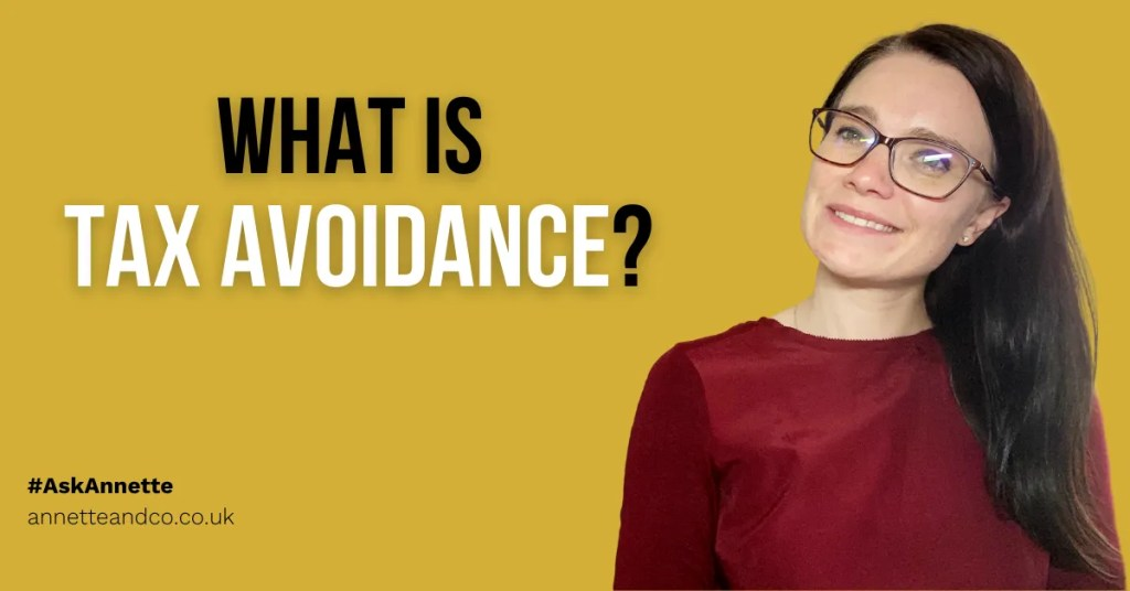 a blog featured image of annette with a topic of What is Tax Avoidance?