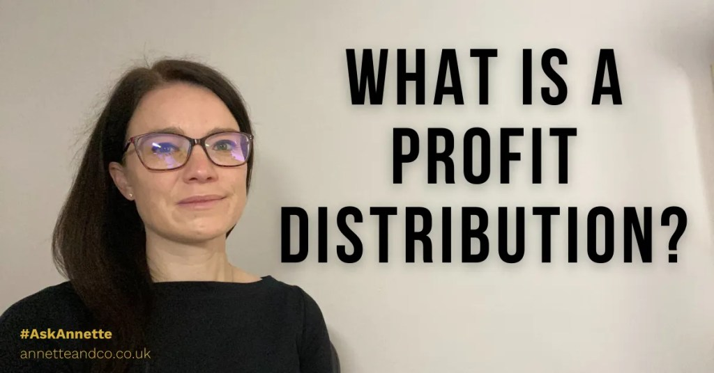 a blog featured image entitled What Is A Profit Distribution?