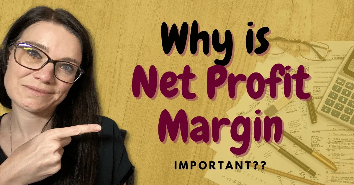 a blog featured image with a topic title about Why Is Net Profit Margin Important?