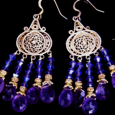 amethyst-chandelier-earrings