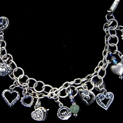 sterling-silver-heart-double-strand-bracelet