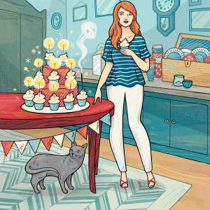 Dying for a Cupcake: book cover for Penguin
