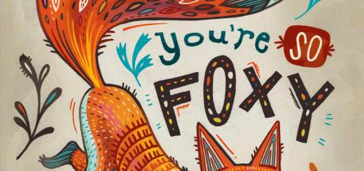 Youre So Foxy: print for sale