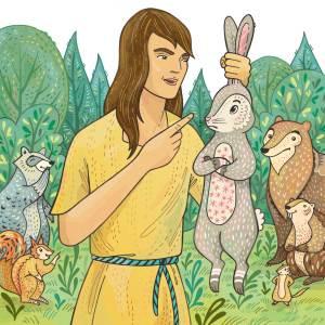 From How Rabbit got Long Ears for Storytime Magazine