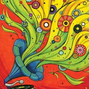 Colorful Gramophone