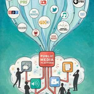 Public Media Platform infographic