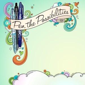 Pilot Pens website illustration