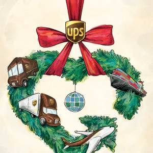 Christmas Card for UPS