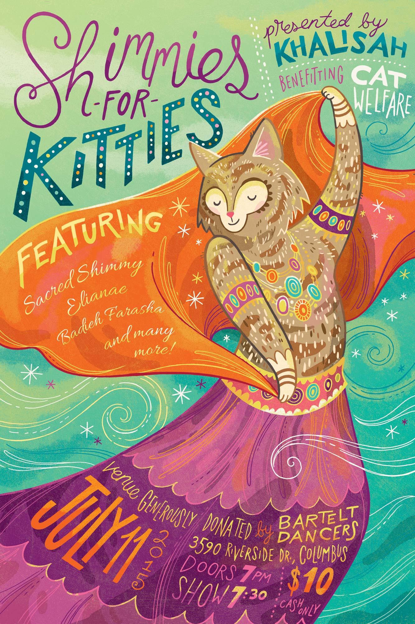 Shimmies for Kitties poster