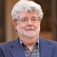 -George Lucas-(American Film Director and Producer, famous for Star Wars and Indiana Jones trilogies. b.1944- )