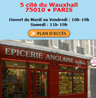 Epicerie Anglaise located in paris