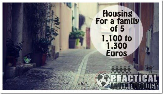 how much does it cost to rent a house in France