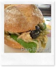 Try pan-bagnat in Nice France