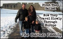 How the Barnes family plan to travel indefinitely with their kids