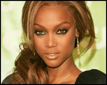 Tyra banks is crazy about vaseline and uses it on her face for multiple purposes