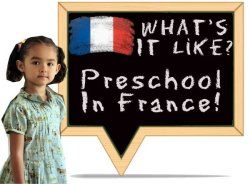 Fwhats preschool in france like?