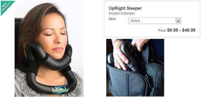 upright-sleeper: stupid skymall products you can buy