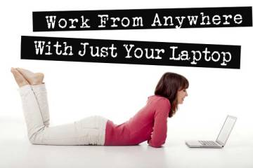 Become a digital nomad and freelance and work anywhere in the world with just your laptop.