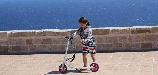 bring a foot powered scooter to Barcelona and you can cover more ground with the kids