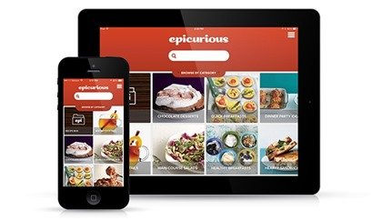 use your tablet like a portable cookbook and cooking conversion tool while you travel