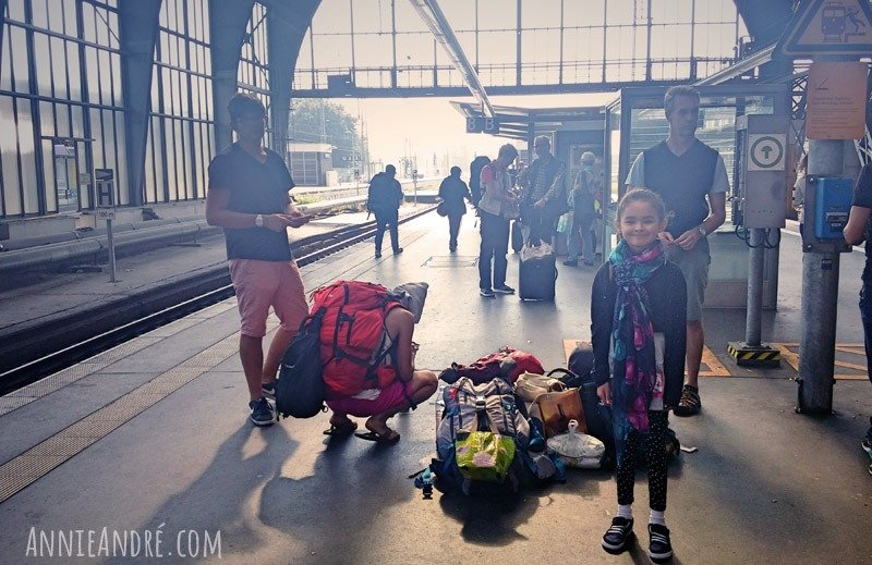 We travelled with just back packs which made it easy to just change plans on the fly. No checked bags, no airport security.