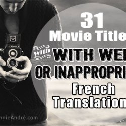 The weird ways Movie titles are changed for the French market