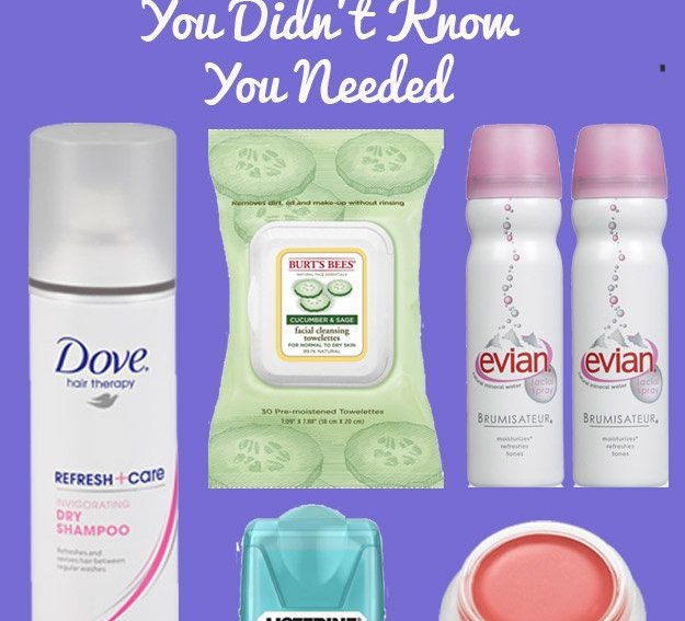5 Must have Road trip beauty products
