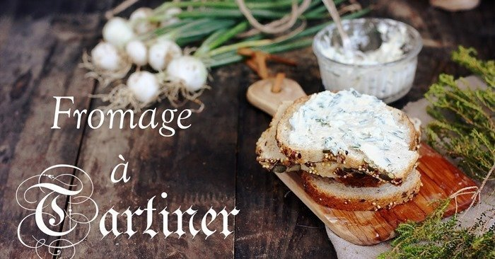 vegan French Fromage frais à tartiner - cheese-spread