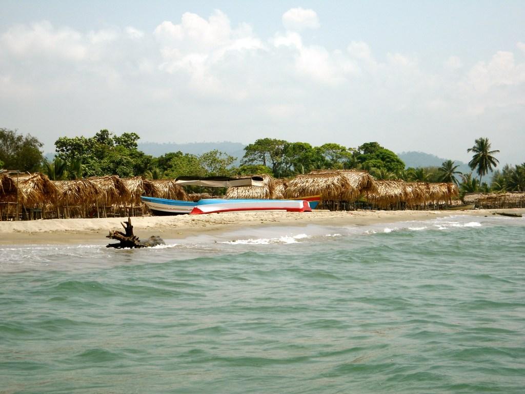 Beach near Tela, Honduras