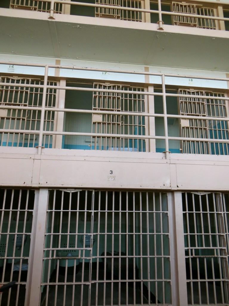 Cell Rows in Alcatraz