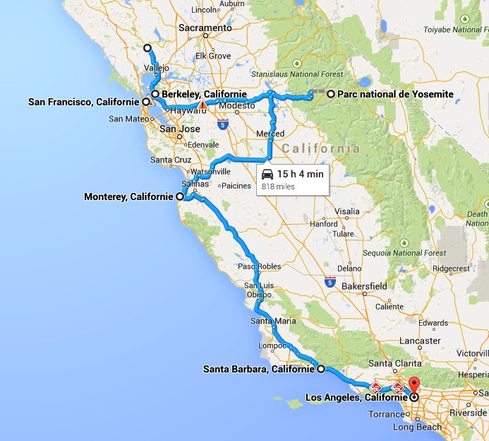 10 Days Itinerary in California