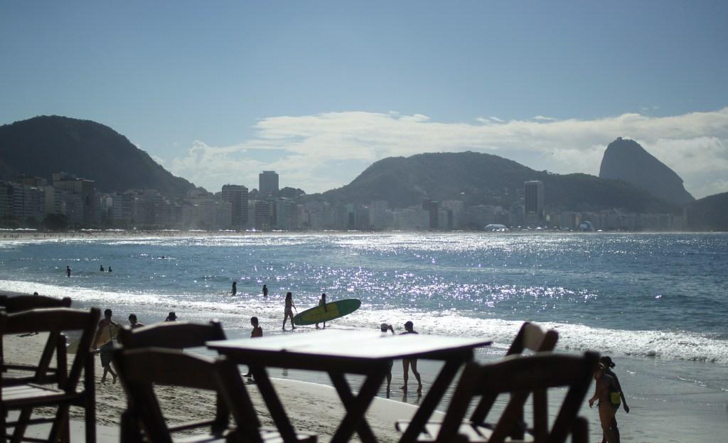 Copacabana Beach in Rio de Janeiro