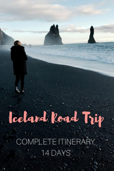Complete 14 Days Itinerary for a Road Trip in Iceland! Don't miss the best things to see! Click to get the itinerary, including numbers of km to drive per day.