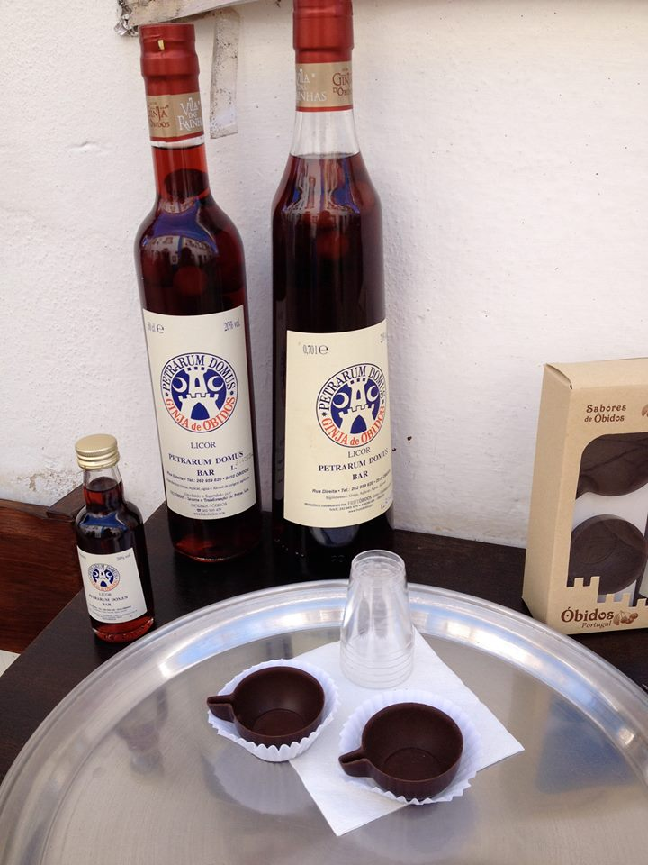 Ginjinha: the famous cherry alcohol from Obidos, Portugal
