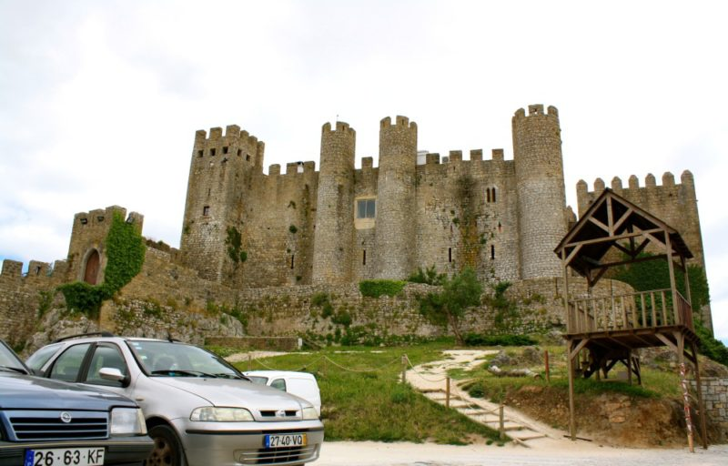 Obidos Castle in Portugal Medieval Town