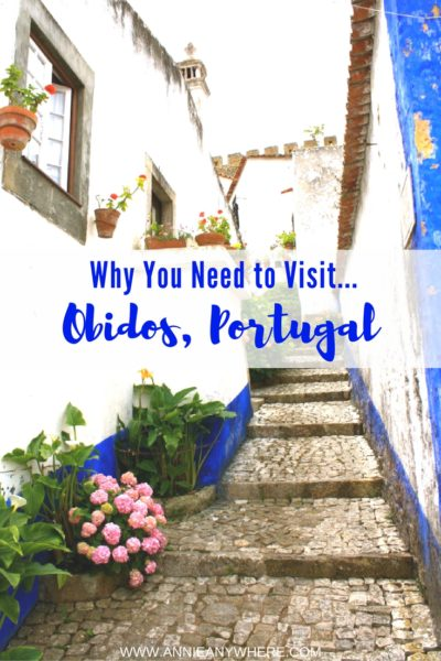 Why you need to visit Obidos, a small village in Portugal? A Must-see on your next trip to Portugal. Click to know more!
