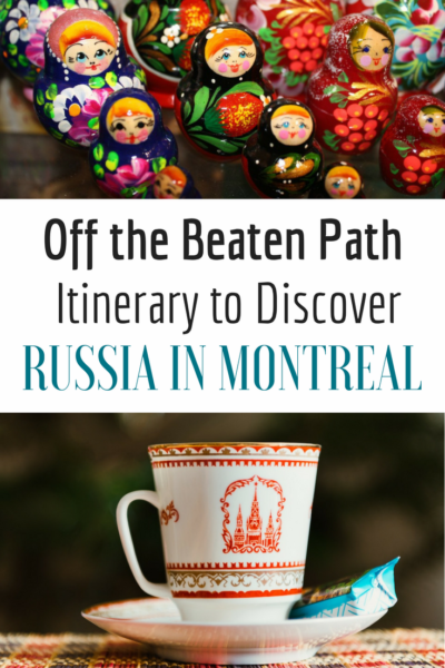 Off the beaten path itinerary to discover Russian address in Montreal. An original way to explore the city! #quebecoriginal #mtlmoments #montreal #montrealcity