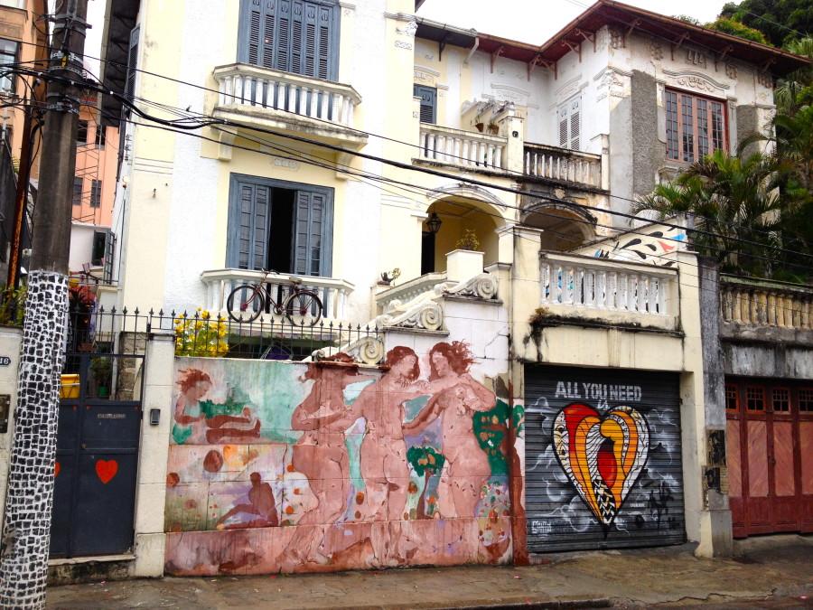 Street art in Santa Teresa - Rio de Janeiro