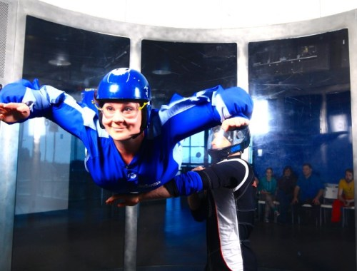 Skydiving for the wuss at SkyVenture Montreal
