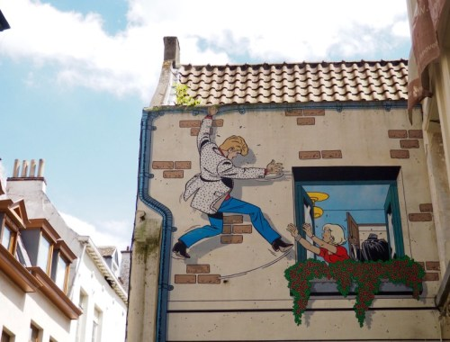 Brussels, city of Comic Strips