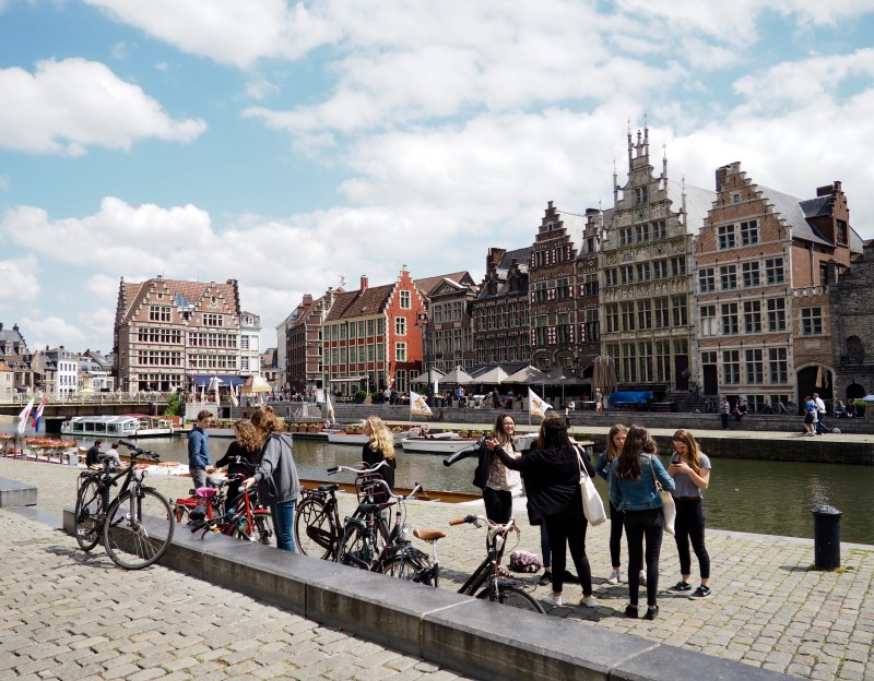Bicycles in Ghent, Belgium